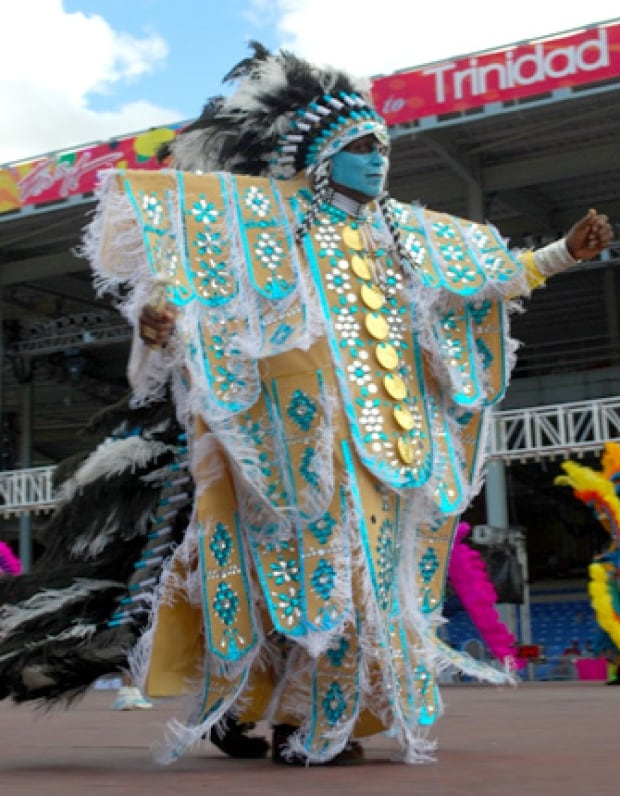 Carnival Nationz Indigenous costumes