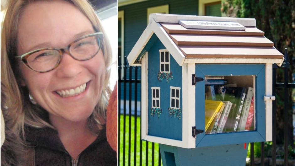 Jane Schmidt is a librarian at Ryerson University. She has co-authored a paper that takes a critical look at Little Free Library. The non-profit organization helps people set up book exchanges, similar to the one pictured on the right.