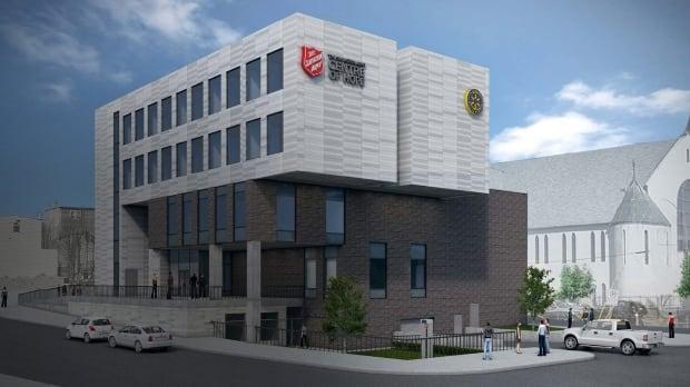 Design of Centre of Hope on Springdale Street