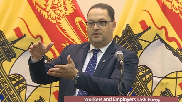 Labour Minister Donald Arseneault wants a task force to look at why WorkSafeNB rates paid by employers jumped 33 per cent this year.