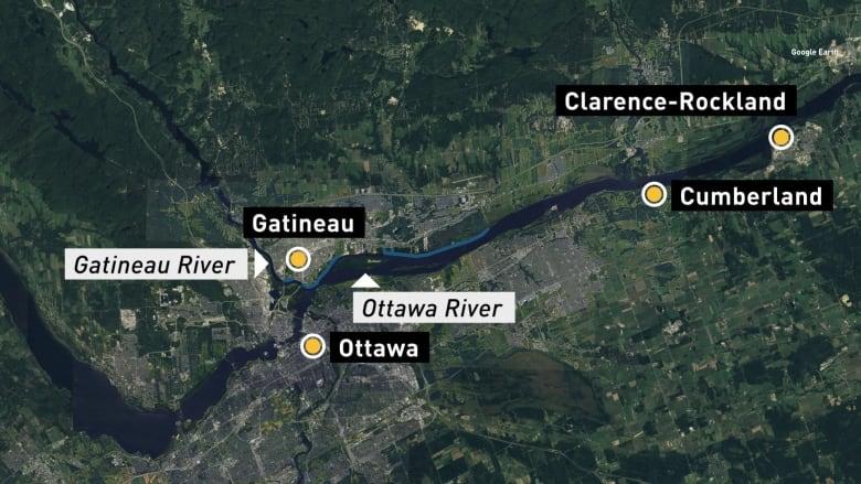 Aerial Photographs Of Toronto Islands Flooding