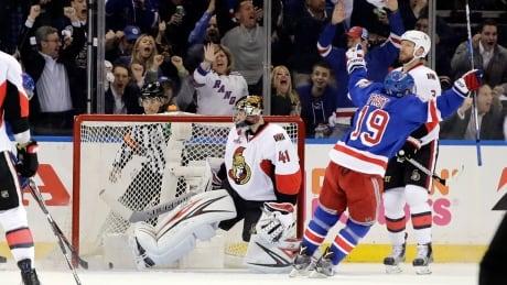 Senators Rangers Hockey