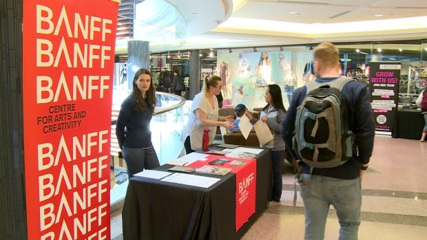 Banff-based companies were looking to fill around 300 positions Thursday during a hiring fair.