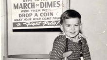 Terry Wiens - March of Dimes poster boy