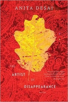 BOOK COVER: THE ARTIST OF DISAPPEARANCE