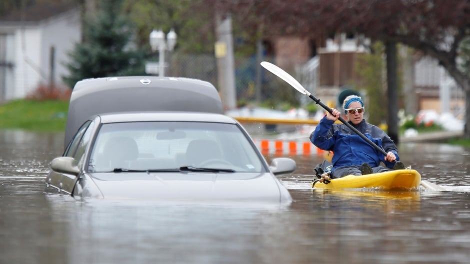 Quebec's public security minister says flood situation improving gradually