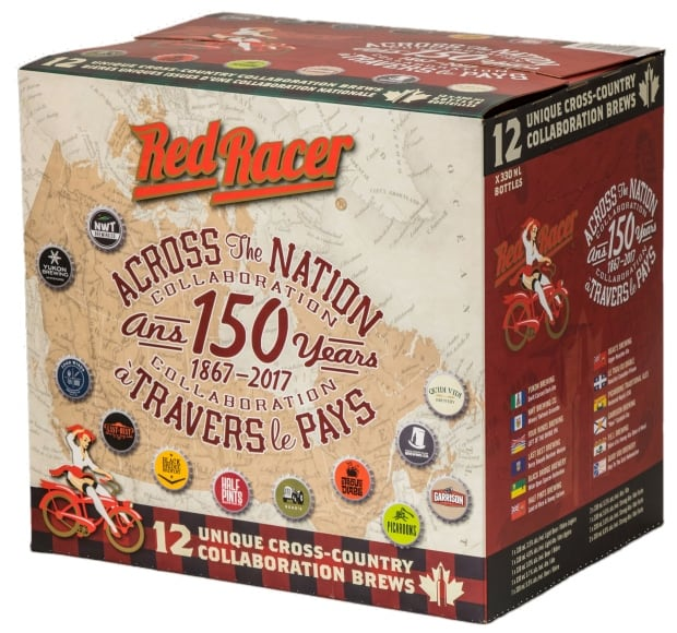 Red Racer Across the National Collaboration 12 pack of beer