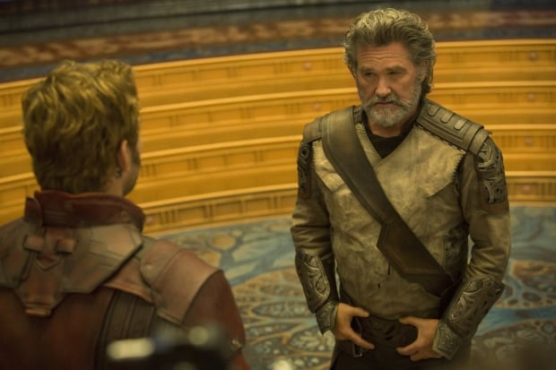 Kurt Russell as Ego in Guardians of the Galaxy