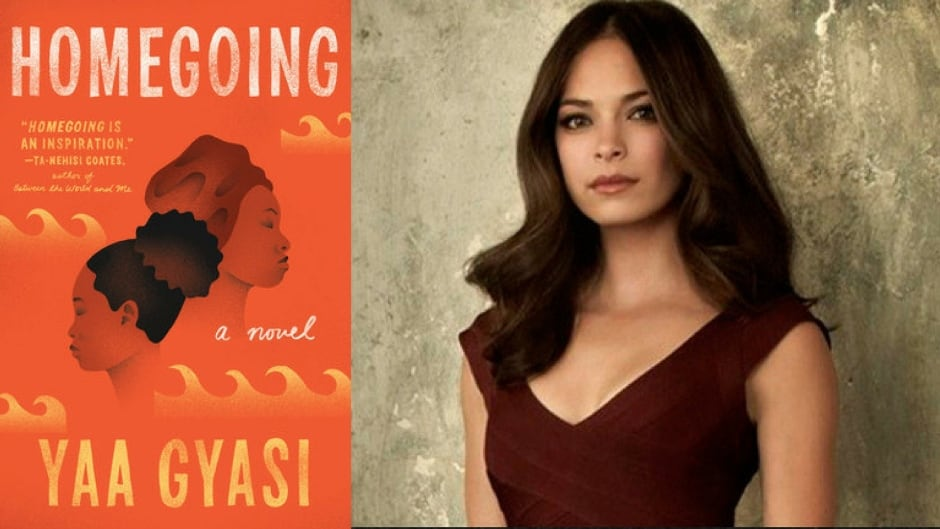 Kristin Kreuk says that Homegoing by Yaa Gyasi makes an important point about the stories missing from history.