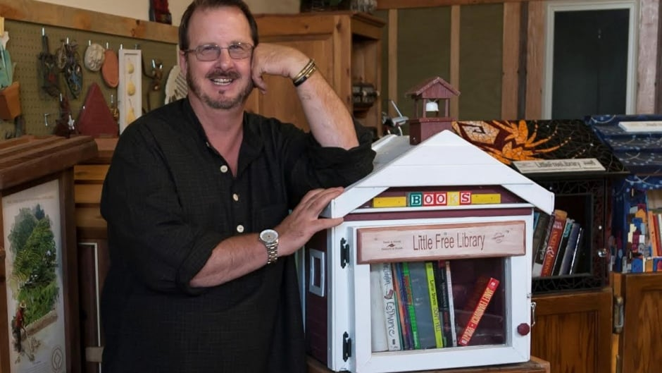 Todd Bol is the co-founder and executive director of the non-profit organization Little Free Library.
