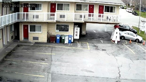 Surveillance video of Dartmouth motel