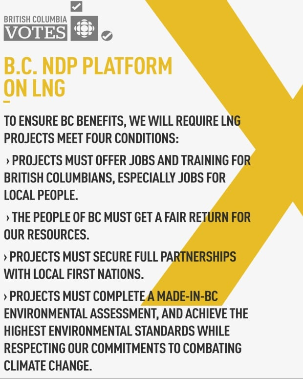 B.C. NDP Platform on LNG