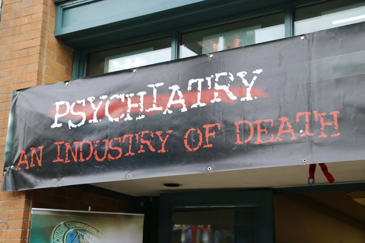 Scientology linked anti-psychiatry exhibit in DTES concerns mental