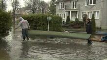 Flood Ile Mercier