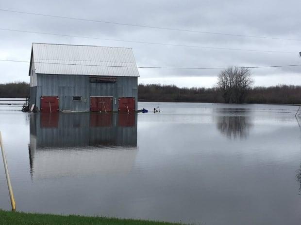 barn flood