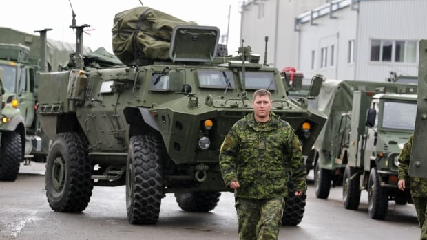 Canadian Armed Forces personnel are assisting in controlling flooding in Quebec.
