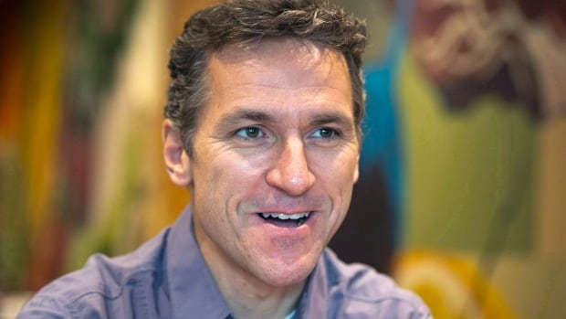 Former Canadian Olympic figure skater Elvis Stojko is shown during an interview in Toronto in 2014.