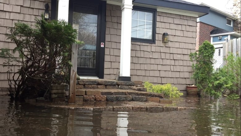 Grandson fills 600 sandbags, but can't save home for grandmother, 93