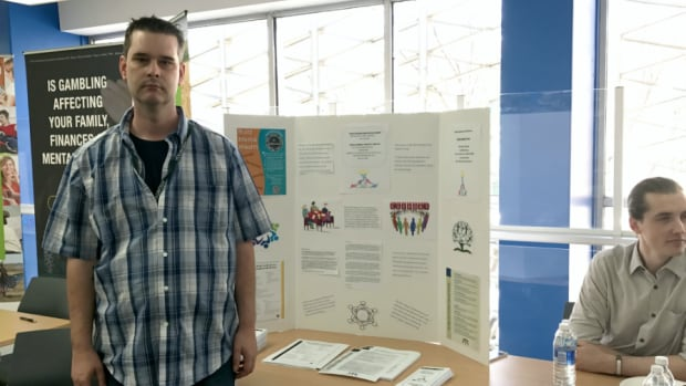 Trevor Svingen said going to a mental wellness support group has given him confidence and leadership skills.