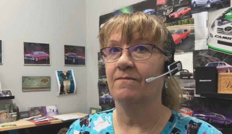 Caroline Quilloy Helps Run Phil S Auto In Irricana Alta
