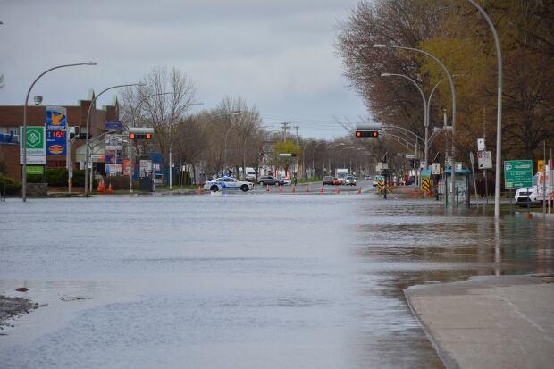 flooding Pierrefonds
