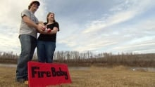 Aww... Fort McMurray wildfire babies smile for the camera