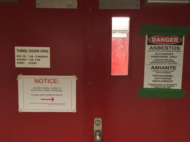 Asbestos Munnel MUN shutdown