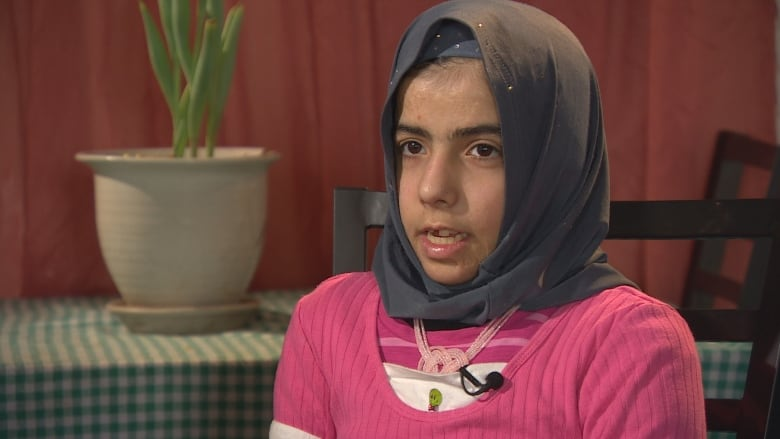 Maryam, a Syrian refugee who survived a bomb attack is thankful to be in Winnipeg