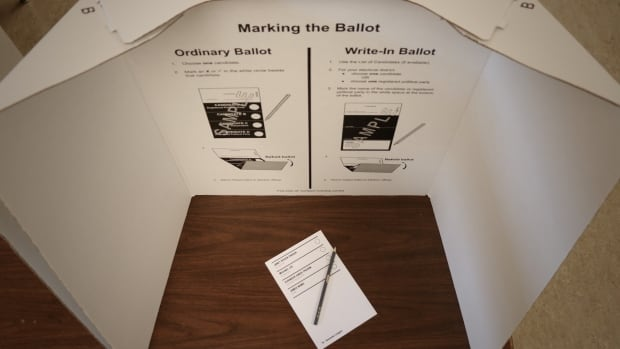 Votes cast anywhere other than a designated voting place are absentee ballots and won't be counted until May 22.