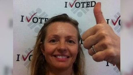 Elections B.C. selfie wall