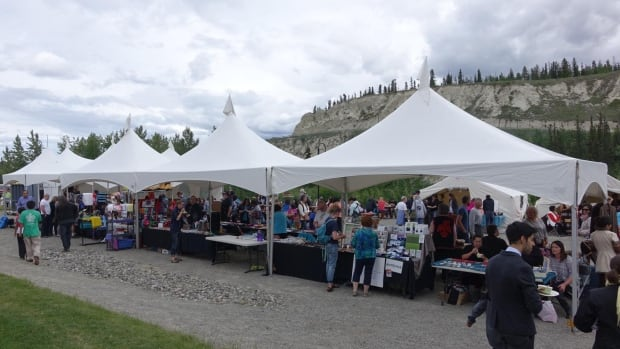 National Aboriginal Day celebrations in Whitehorse last June.