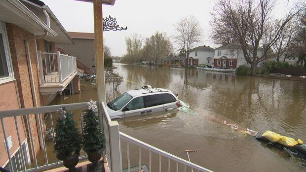Gatineau Flooding Touraines neighbourhood