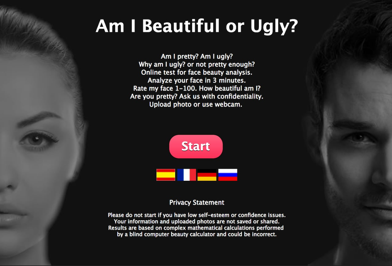 Your face is so ugly