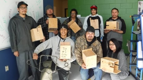 Poplar Hill First Nation trapping course