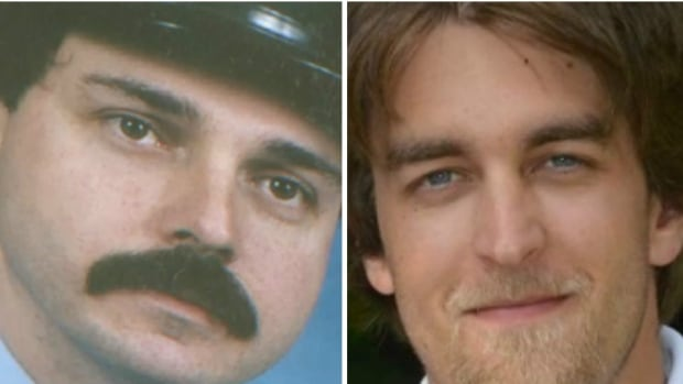 Gary Kendall (left), a veteran volunteer firefighter, and Adam Brunt (right), a firefighting student, died during ice water rescue training exercises five years apart.