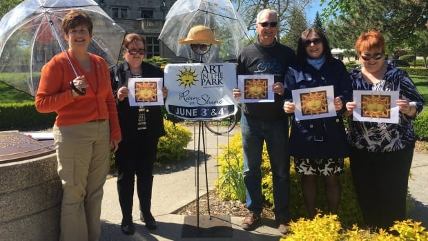 Art in the Park is scheduled for June 3 and June 4, 2017. More than 260 artists, including 40 new exhibitors, will be showcased this year. (Meg Roberts/CBC Windsor)