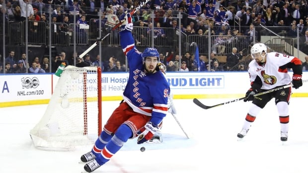 Mika Zibanejad scored a big new contract from the Rangers.