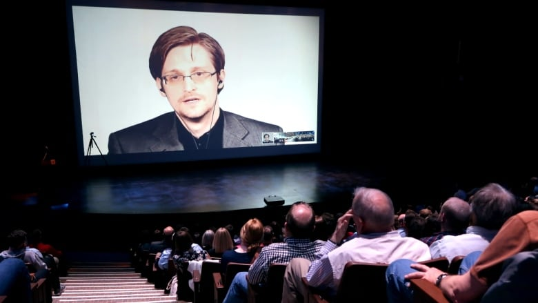 Edward Snowden tells universities Trump's firing of FBI director is alarming