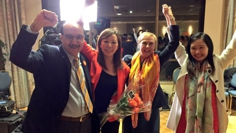 NDP Burnaby riding winners BC Votes 2017