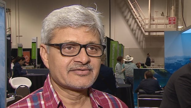 Mahendra Vakharia, who owns a travel agency in India, says he thinks his clients would enjoy tours in the Kananaskis area.