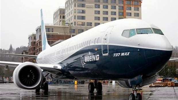 Boeing is stopping test flights of its new 737 Max model because of a possible problem in engine discs. The company is working with engine maker CFM to investigate.