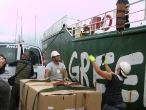 Greenpeace Clyde River
