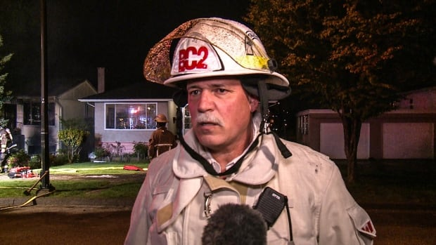 Two sent to hospital in Vancouver fire