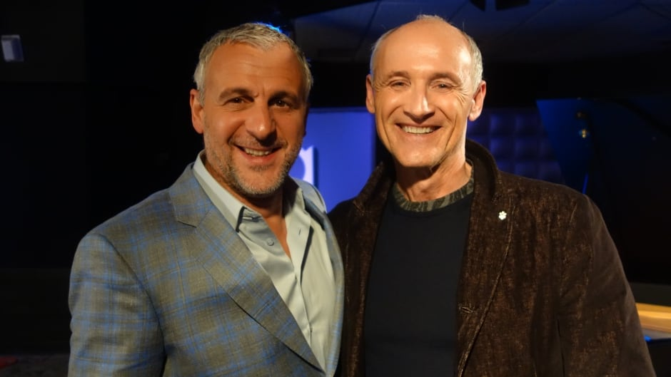 Bon Cop, Bad Cop 2 stars Colm Feore and Patrick Huard in the q studios in Toronto, Ont.