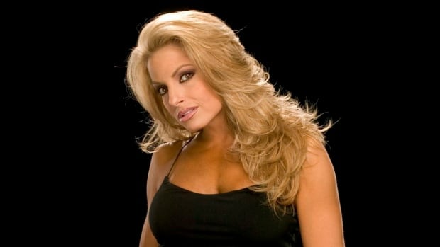 Trish Stratus, the Toronto-born superstar of World Wrestling Entertainment, shown in this undated handout photo.