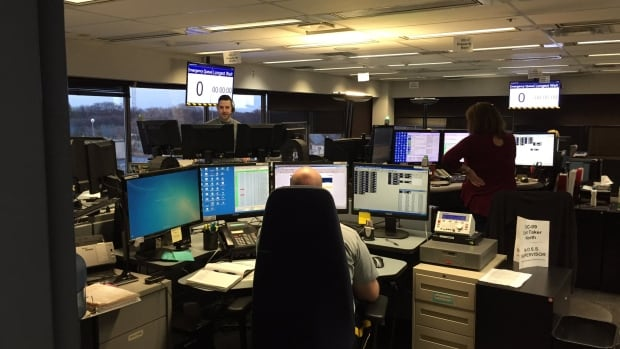 Operators take 911 calls and perform risk assessments for officers they dispatch to the scene. They are often tasked with calming the person on the phone while they look up addresses, licence plates and other police records.