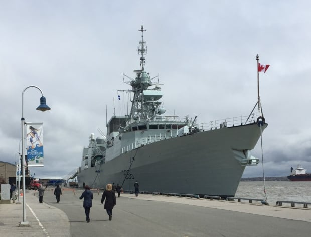 HMCS Montreal in Trois-Rivieres