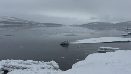 Ice melting in Rigolet