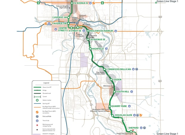 Green Line LRT phase 1