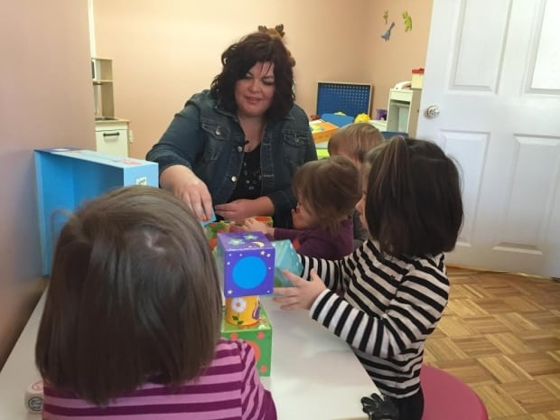Nathalie Pelletier, subsidized home daycare operator